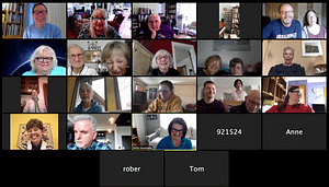 Creative Connections via Zoom @ Online via Zoom